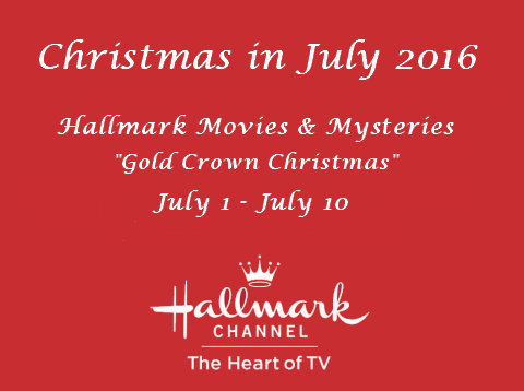 Hallmark Christmas In July Logo.Hallmark Movies Mysteries Christmas In July 2016 Schedule